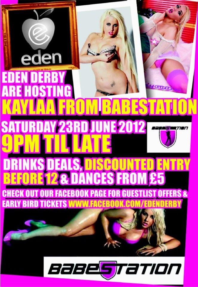 Eden strip club derby